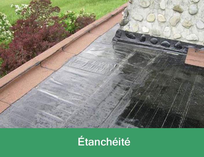 Etanchéité de votre terrasse
