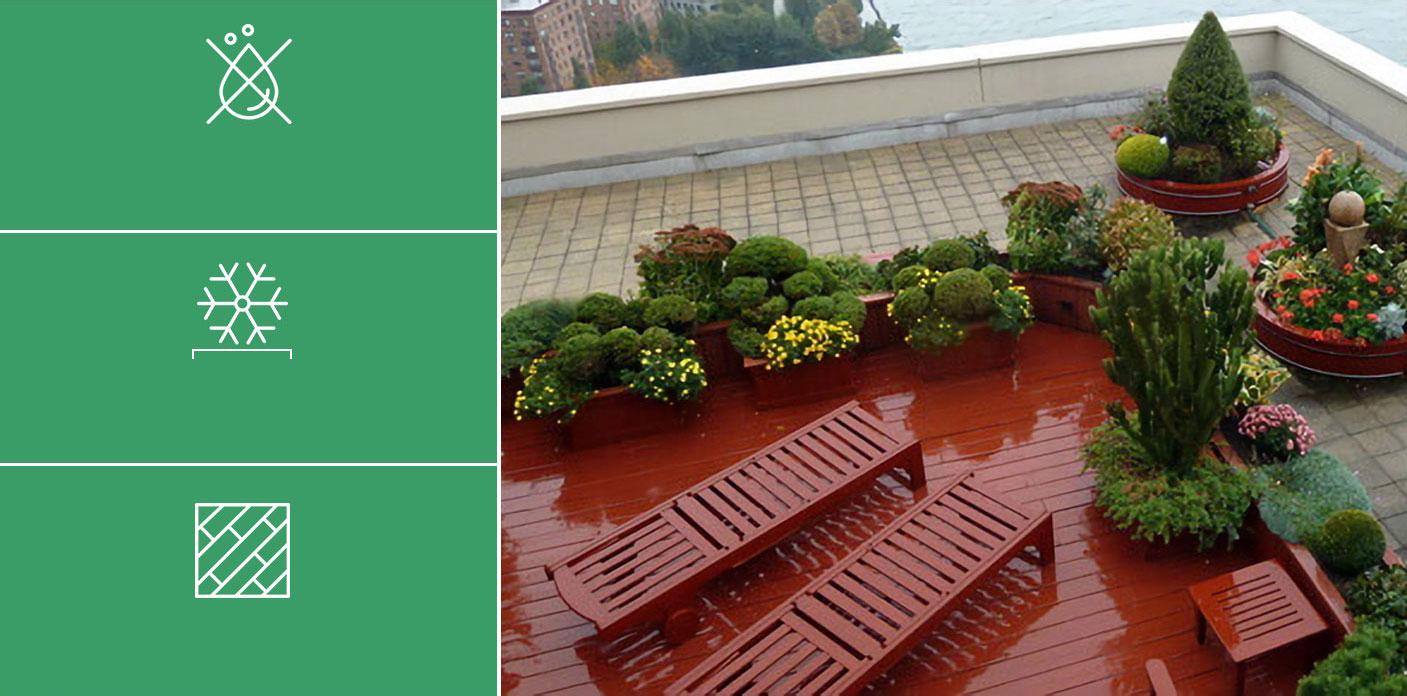 Etanchéité de vos toits terrasses